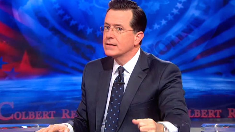 Colbert: Death penalty secrecy merely a means to return 'justice system to the Middle Ages'