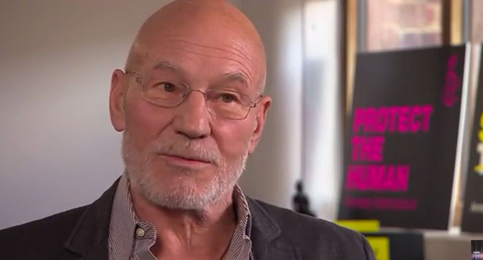 Patrick Stewart defends bakers who refused to make pro-gay cake: 'I support their right to say no'