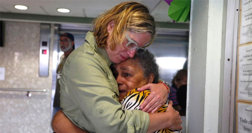 'Stop the genocide': San Juan mayor begs UN and UNICEF for help Trump won't give Puerto Rico