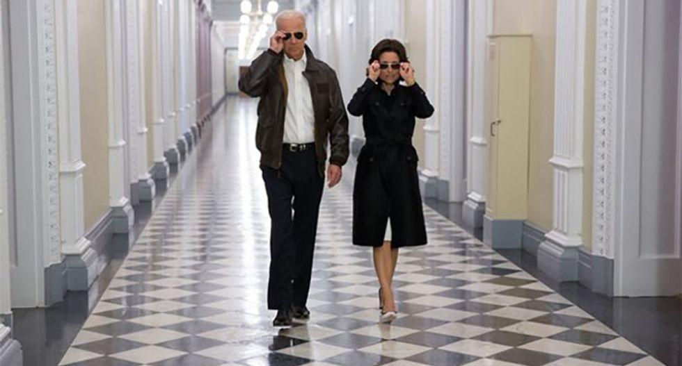 Biden goes to church so often 'he doesn't even need tear gas and federalized troops': Julia Louis-Dreyfus