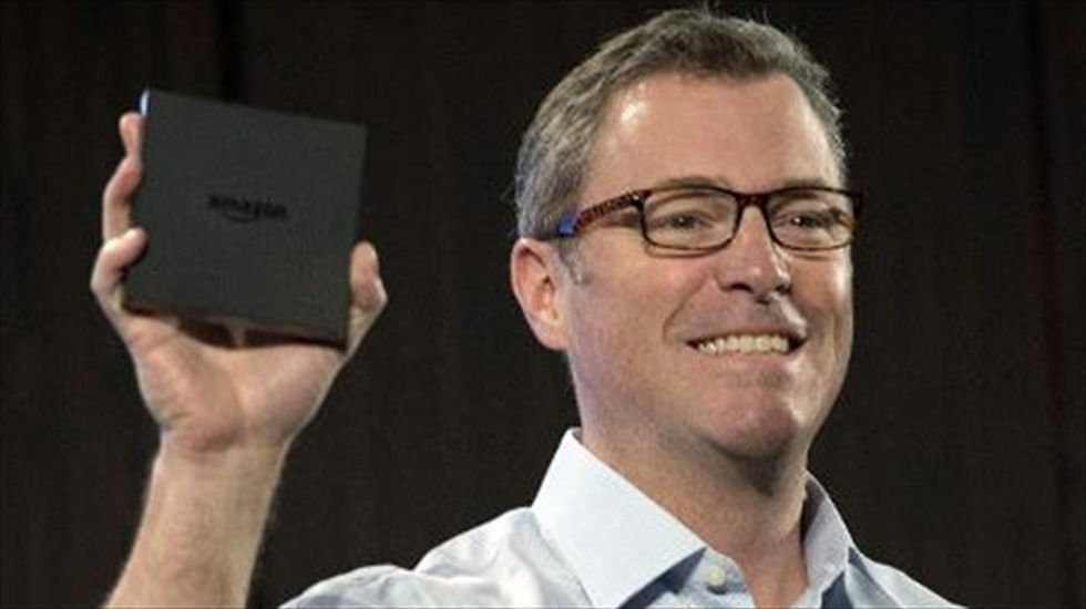 Amazon launches new device for streaming TV service