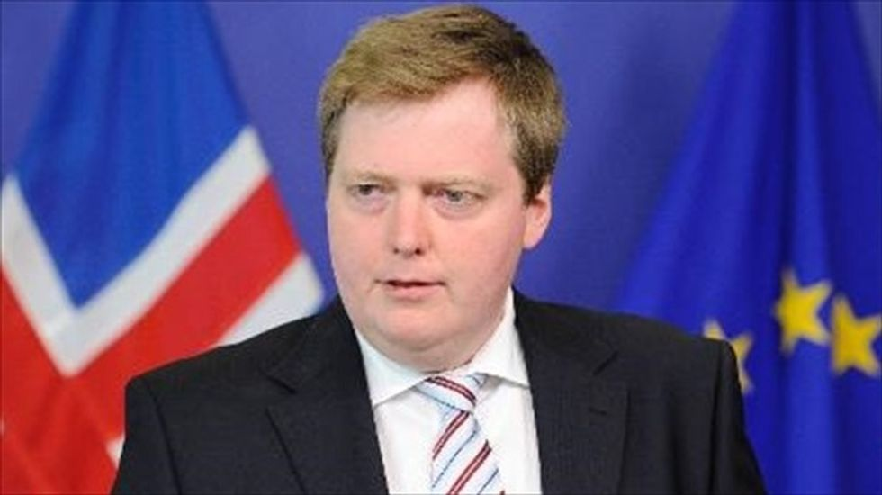Iceland's prime minister says climate change offers 'great opportunities' for his country