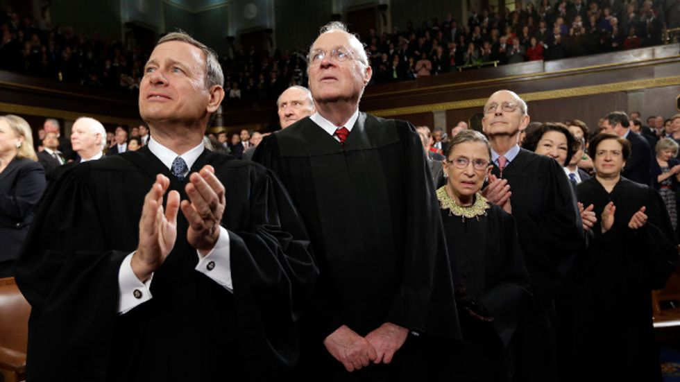 A blistering dissent in 'McCutcheon': Conservatives substituted opinion for facts
