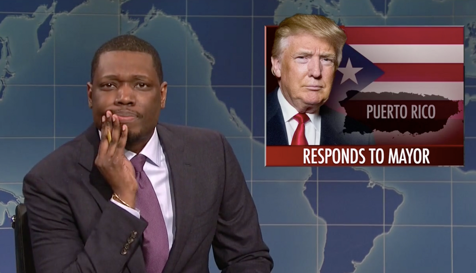 WHOA! SNL's Michael Che called Trump a b*tch on live TV