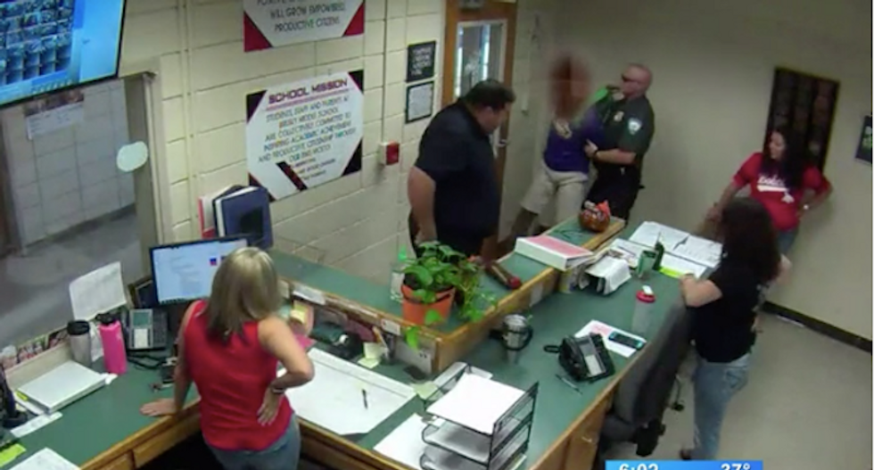 School cop mercilessly slams and beats 14-year-old Louisiana student in leaked footage