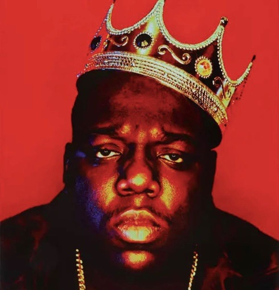 Biggie's crown, Tupac's love letters headed to auction