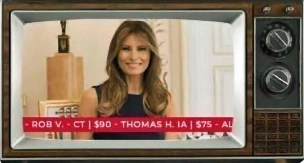 RNC selling ad space during Melania Trump's speech delivered from the White House