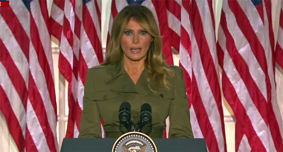 Melania isn't a 'victim': First Lady slammed as Trump's racist accessory in the White House