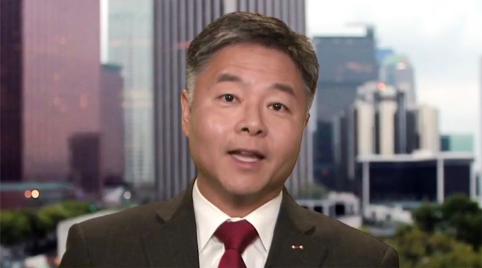 Ted Lieu scorches Trump over immigration rant: 'The 'dumbest' law you refer to is called the US Constitution'