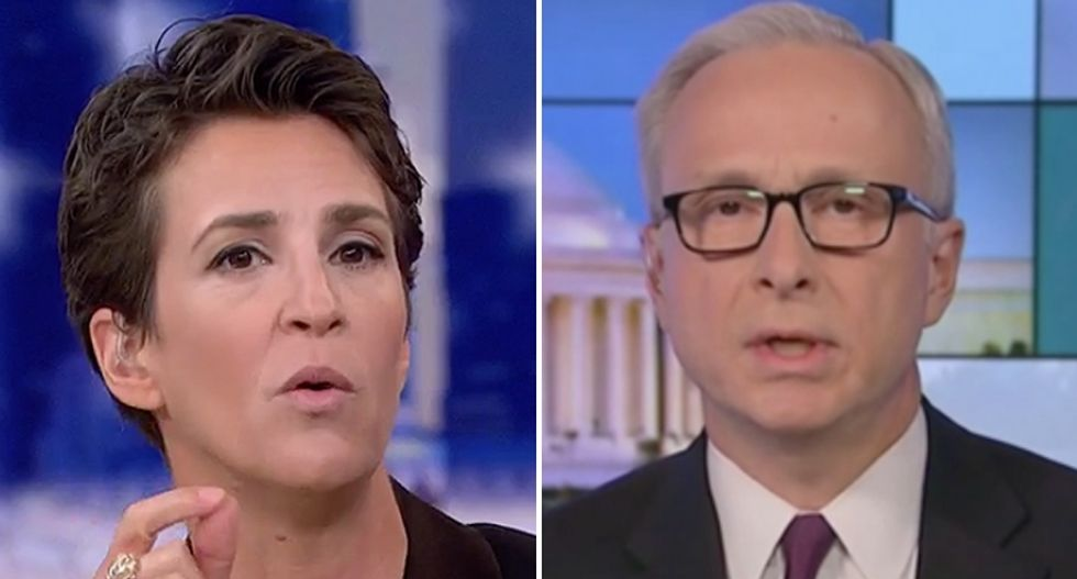 WATCH: Comey friend Jim Baker explains to MSNBC's Rachel Maddow how the Watergate 'road map' applies to Trump