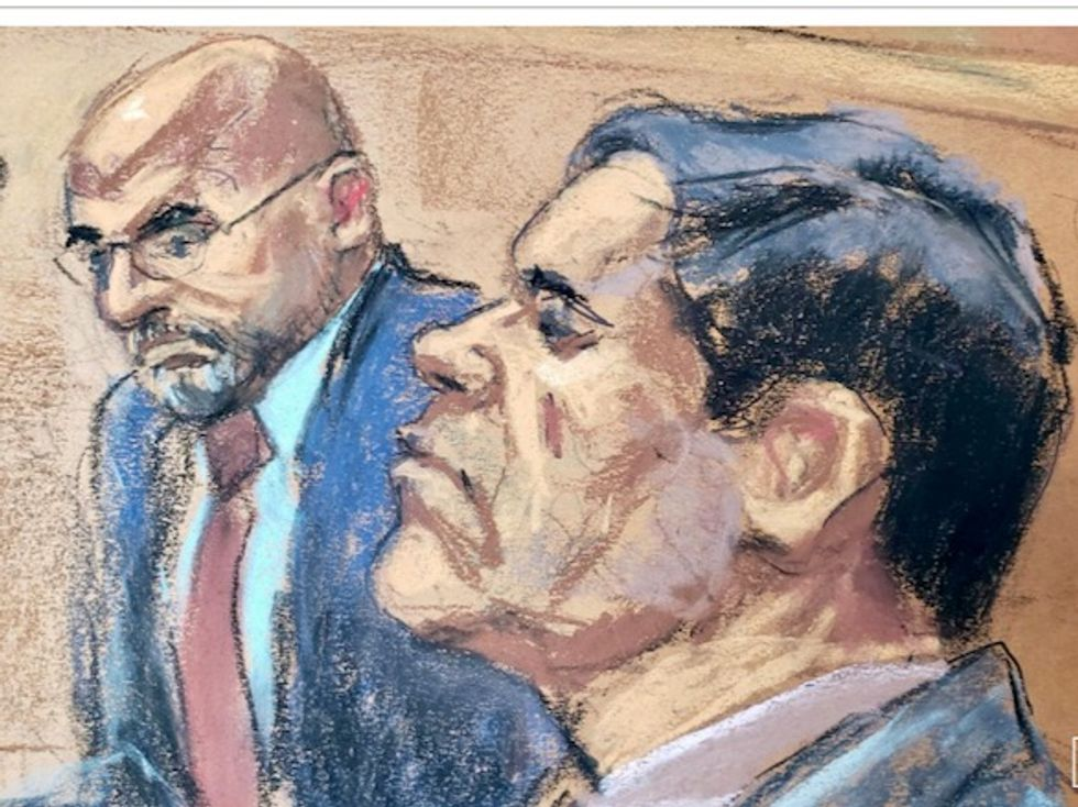 US prosecutors claim 'El Chapo' had unauthorized contact with wife