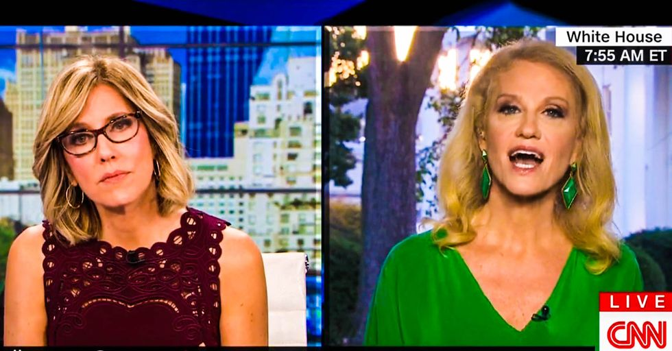 'No you brought her up!' Kellyanne Conway melts down when CNN asks why she keeps talking about Hillary