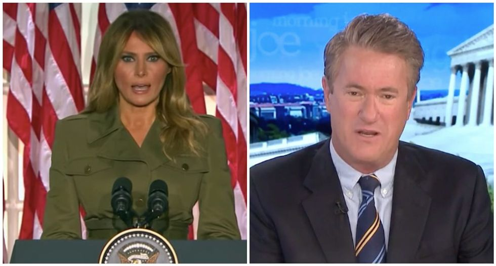 MSNBC's Morning Joe rips Melania Trump's 'absolutely shameless' complaints about gossip and smears