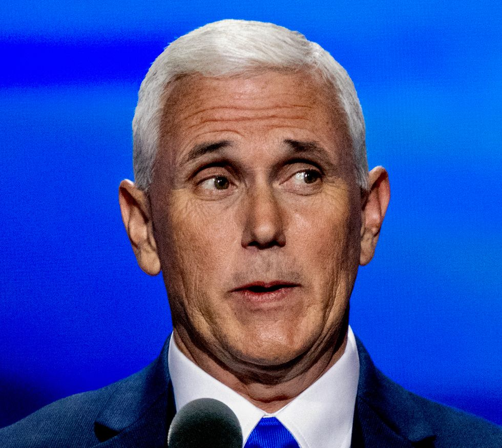 Pence slammed for offering 'prayers' while dismissing climate action at RNC as Hurricane Laura ravages gulf coast