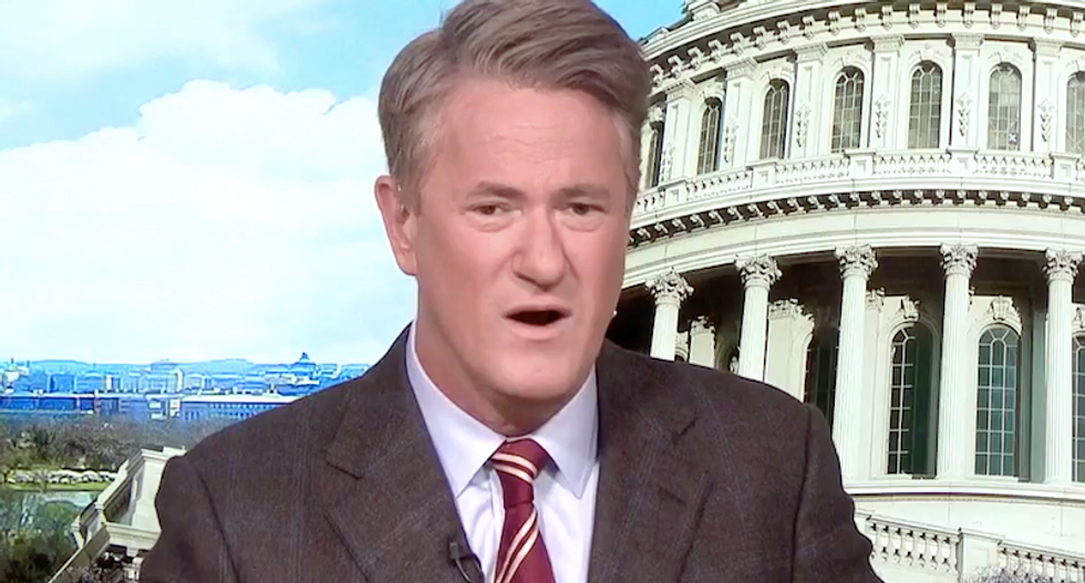 'Crashing and burning before our eyes': MSNBC's Morning Joe dares GOP to challenge Trump's 'bleak immorality'
