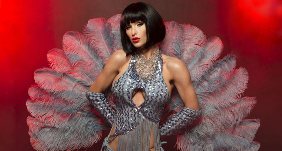 Police bust 'indecent' burlesque show for serving alcohol during partial breast exposure