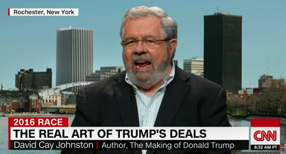 Trump biographer drops a bombshell on CNN -- and exposes his cocaine-dealing crony