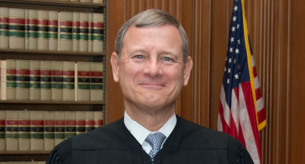 Trumpsters lose it after Chief Justice John Roberts smacks down the president's partisanship