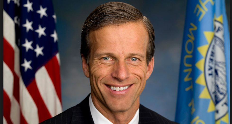 GOP Sen. John Thune shows America that he is a moron using this one weird and dumb tweet