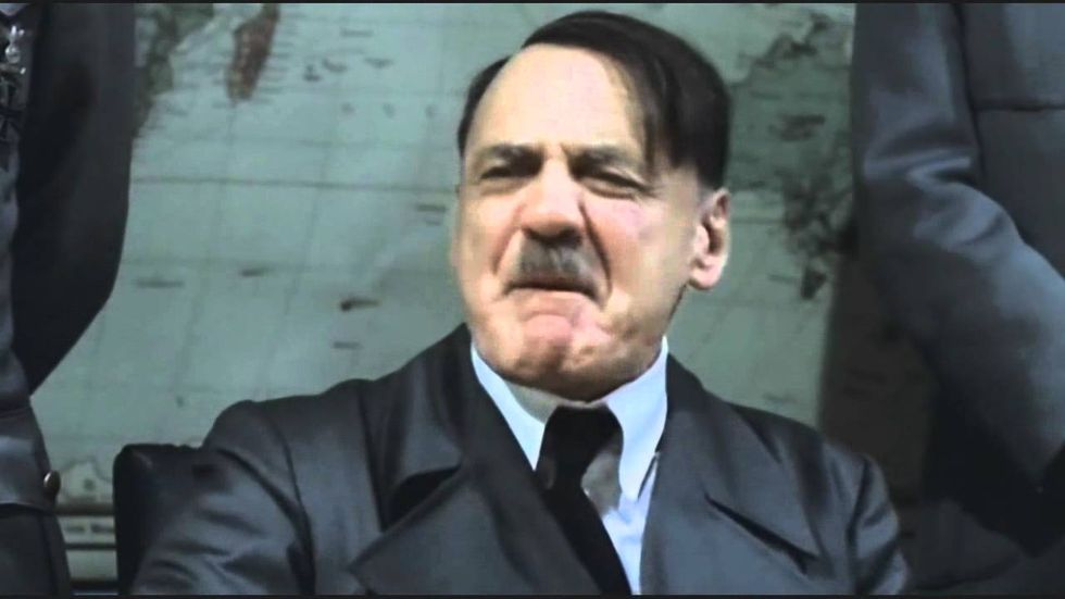 Hitler biopic hilariously used to mock alt-right's whining on Trump's immigration 'flip-flop'