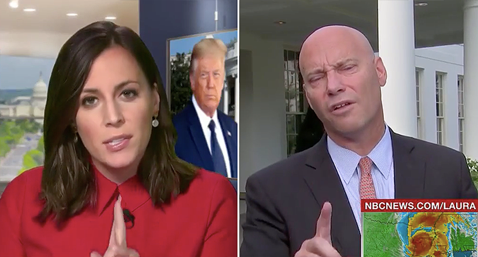 MSNBC anchor hammers Pence chief of staff for dodging questions about whether RNC exposed veterans to COVID-19