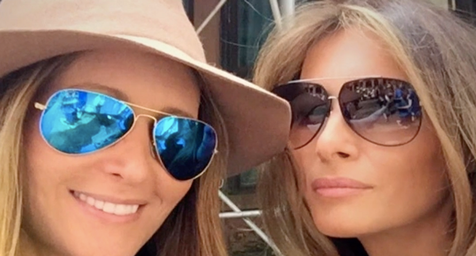 'A Trump is a Trump': Melania's former friend explains why she turned on the first lady