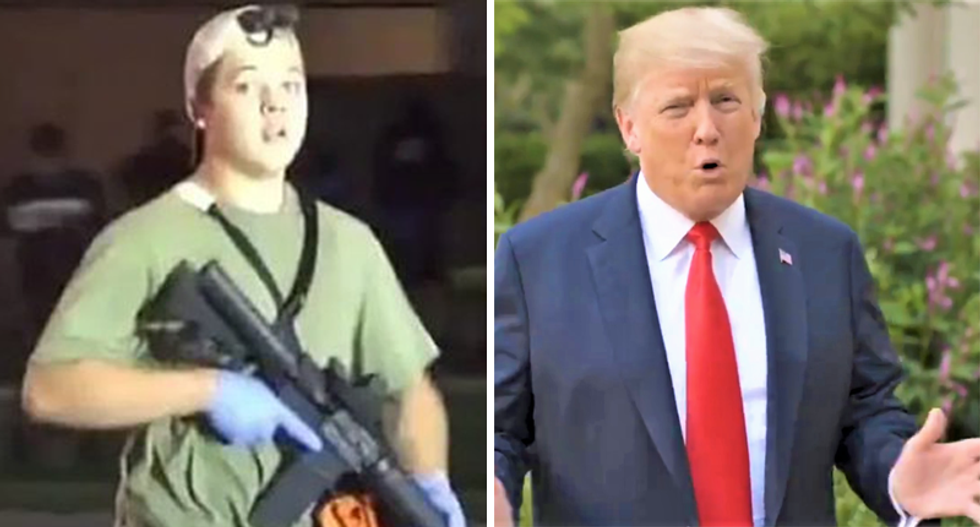 Legal experts rip Trump for 'fomenting deadly violence' and 'ethnic cleansing' with Kyle Rittenhouse defense