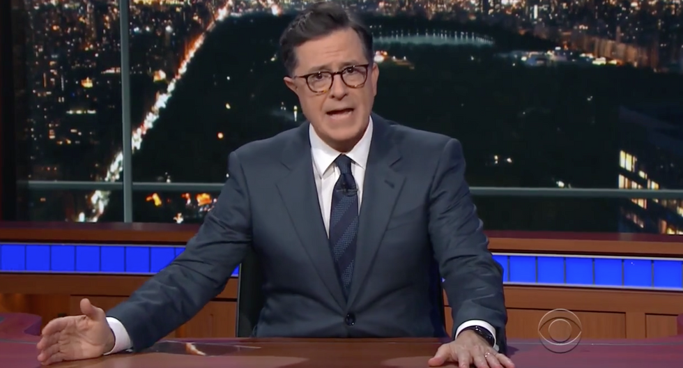 Colbert: Trump Tower meeting was about Russian adoption the way 'Silence of the Lambs' is about lambs