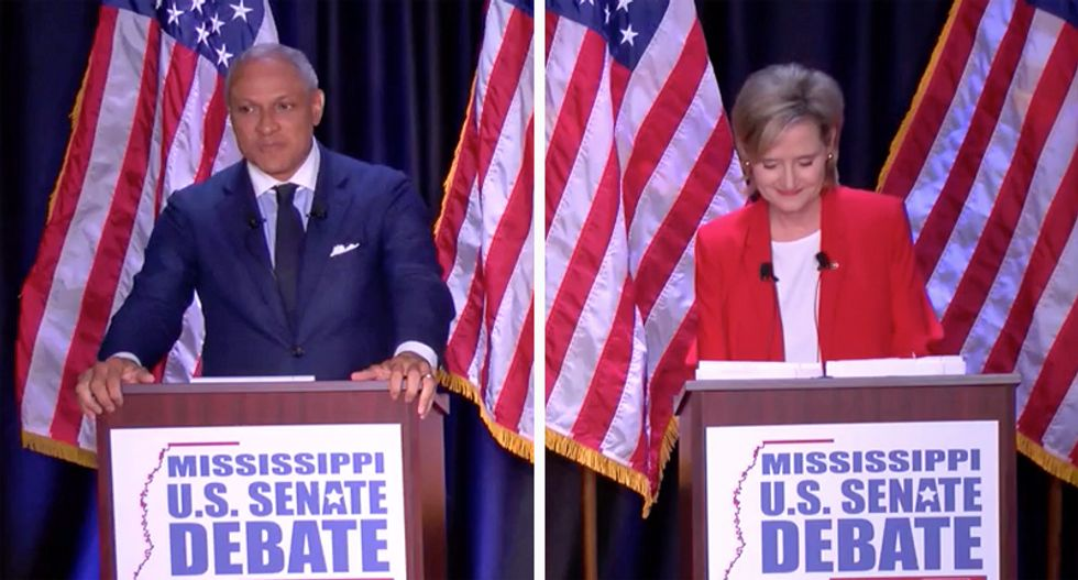 'I don't like it's this close': Republican strategist says 'blame the candidate' for tightening Mississippi Senate runoff