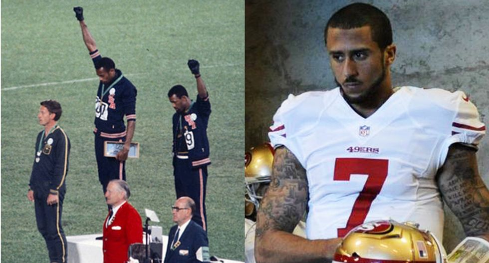 Shut up and play ball: Why America can't handle black athletes who talk about race