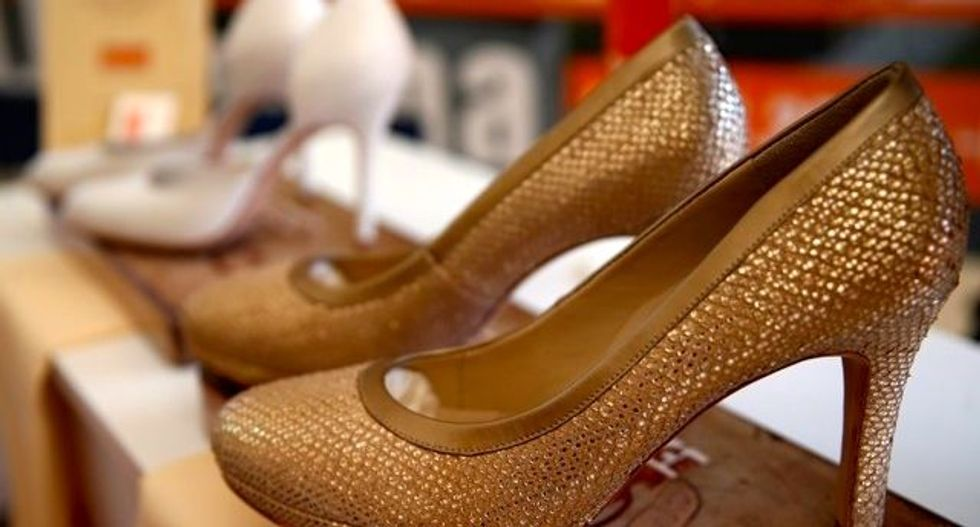 Bosnian Serbs make shoes for Melania Trump's White House march