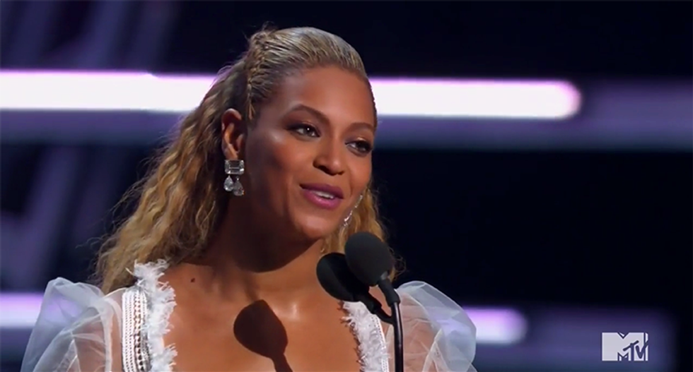 Beyonce dedicates VMA for Video of the Year for 'Formation' to the people of New Orleans