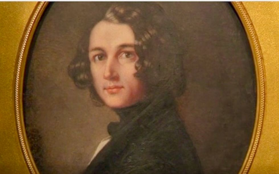 Lost Charles Dickens portrait as a young man goes on display in London
