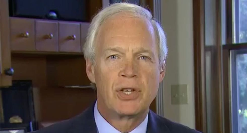 The Russian agent who handed Ron Johnson fake 'dirt' on Biden just had his passport revoked