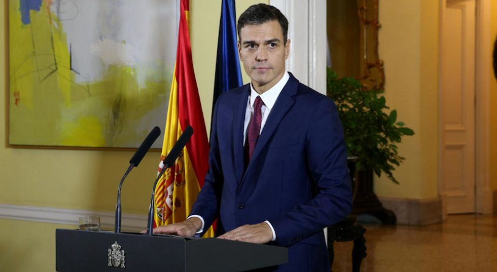 Spain bars May's way to Brussels Brexit deal over Gibraltar