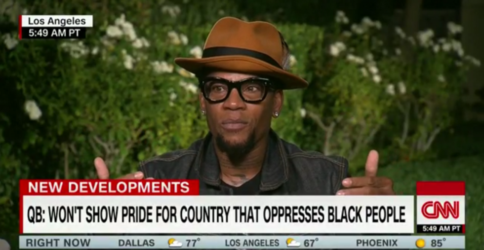 DL Hughley destroys Kaepernick critics: Blacks don't get a 'Sunday off' from racist reality