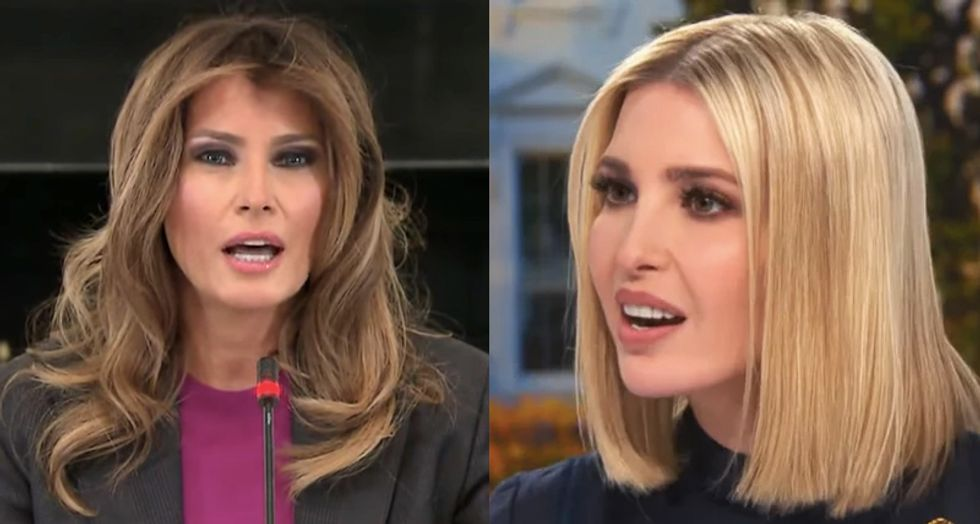 Here's how Ivanka Trump tried to 'render Melania irrelevant' in the White House -- according to a former confidant