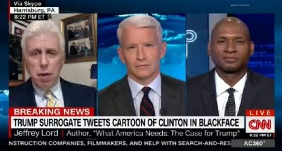 Charles Blow smokes Jeffrey Lord for protecting Trump's 'white savior syndrome'