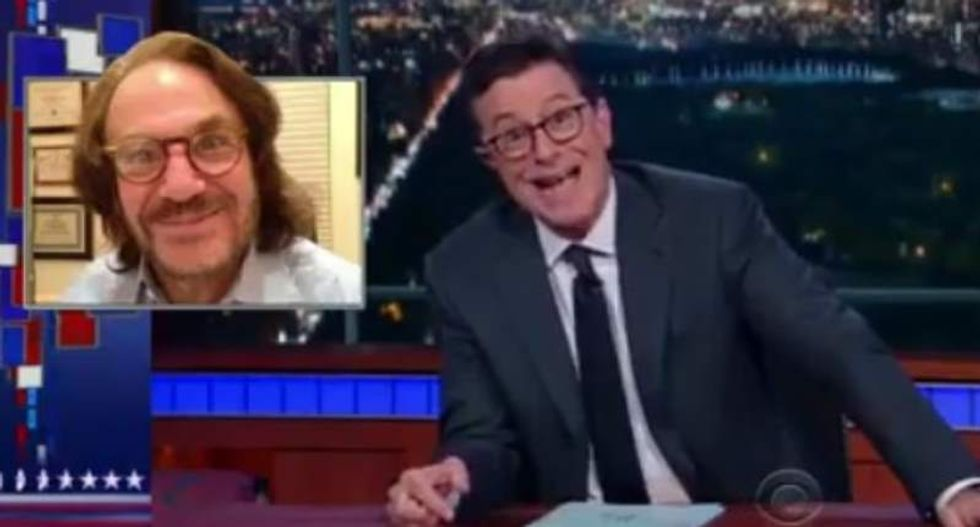 Colbert hysterically ridicules Trump's doctor: His letter was 'yanked from where the sun don't shine'