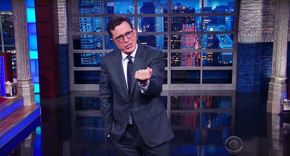 Stephen Colbert rips Weiner: 'Dammit, Anthony, just keep it in your pants until after the election!'