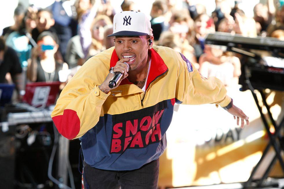 Los Angeles police arrest singer Chris Brown for assault after lengthy standoff