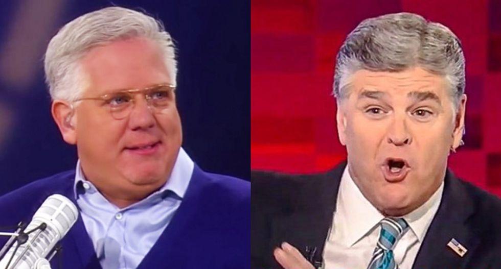Sean Hannity goes ballistic on #NeverTrump Glenn Beck: 'If Hillary wins -- you own it!'
