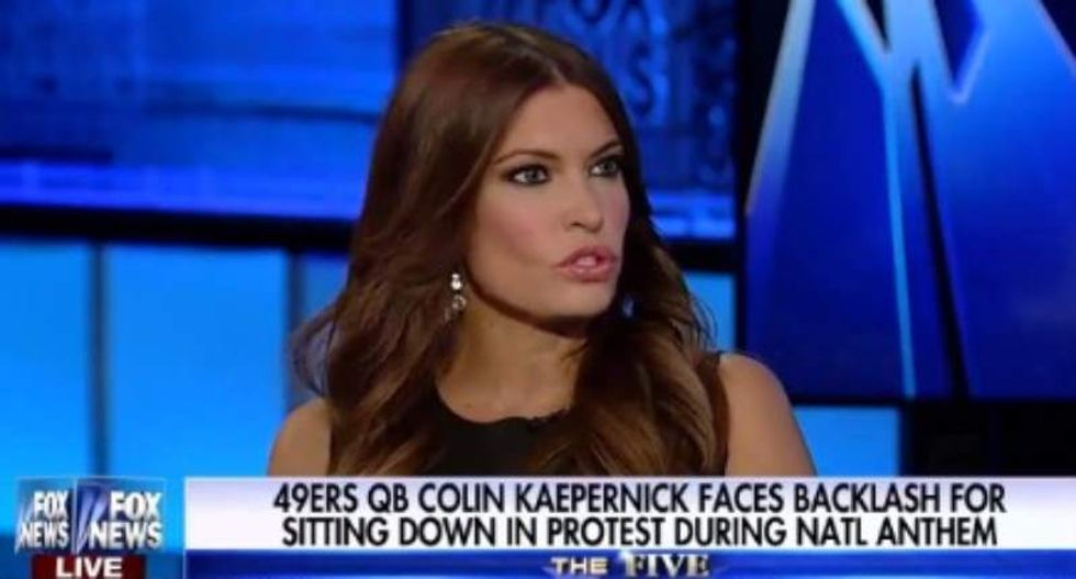 WATCH: Fox's Kimberly Guilfoyle uses MLK to whitesplain how to protest to Colin Kaepernick