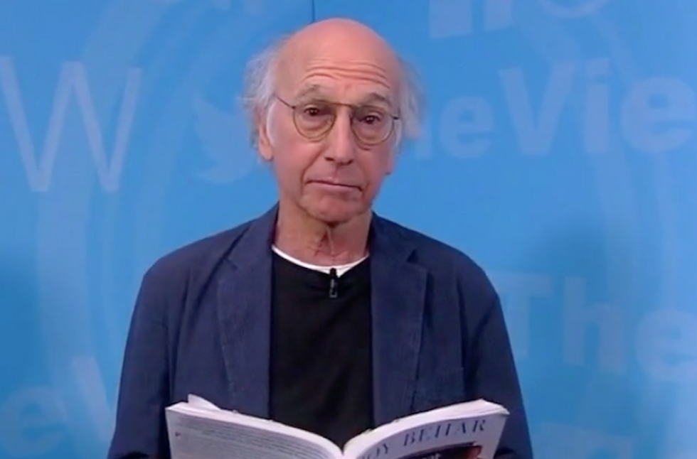 Larry David and The View: Joy Behar was calling Trump a moron 'way before' it was cool