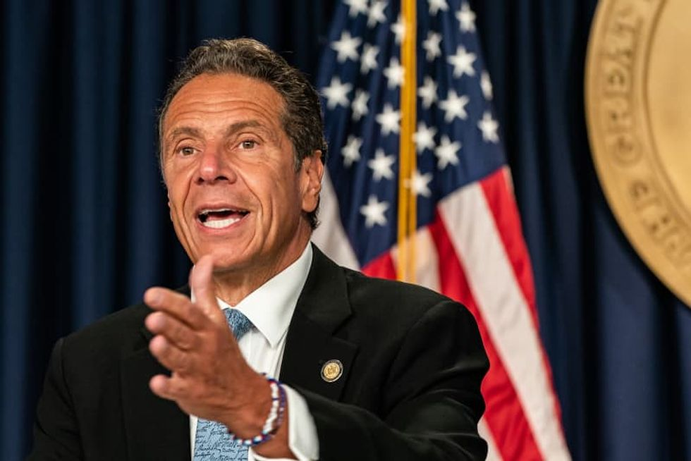 Cuomo slams 'maniacal' Trump and calls him a 'joke' for threatening to pull federal funds from NYC
