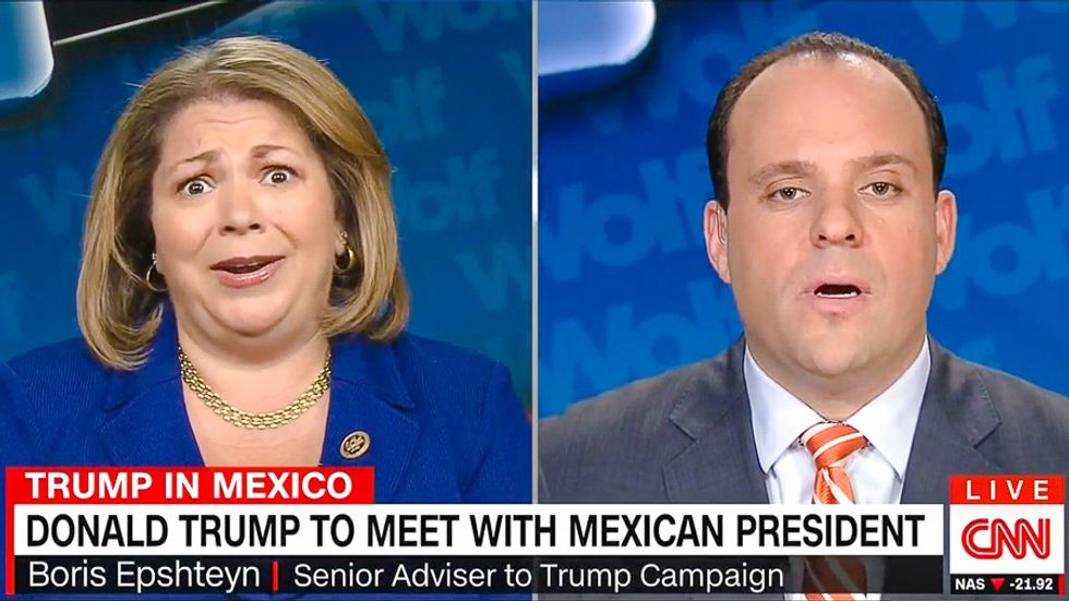 Rep. Linda Sanchez: 'You cannot get your hands on a Trump piñata because they are sold out'