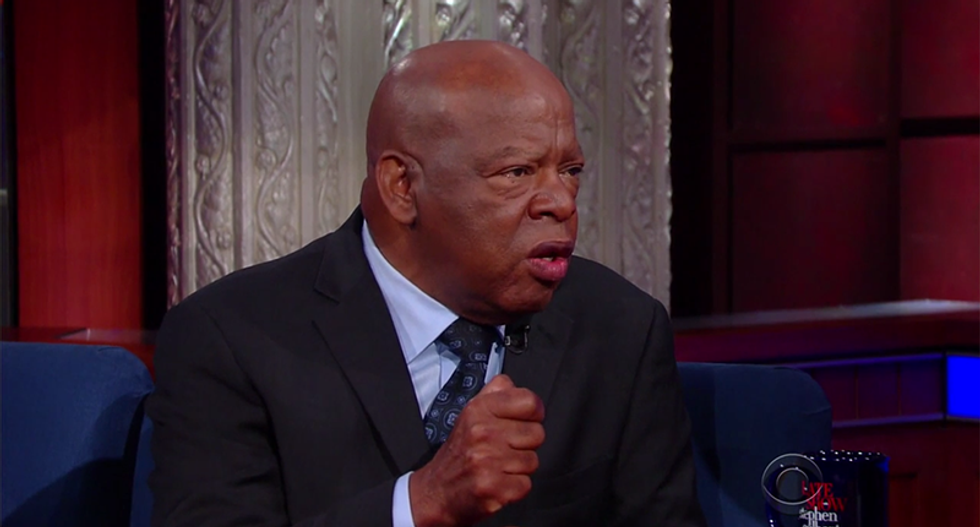 Rep. John Lewis backs Kaepernick: 'You have a right to protest for what is right'