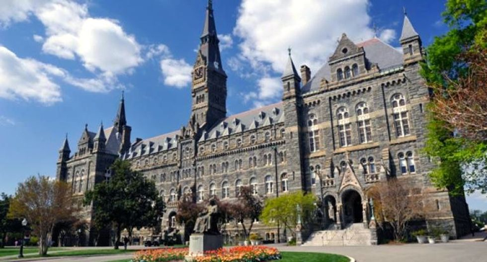 Washington's Georgetown University to make amends for slavery history