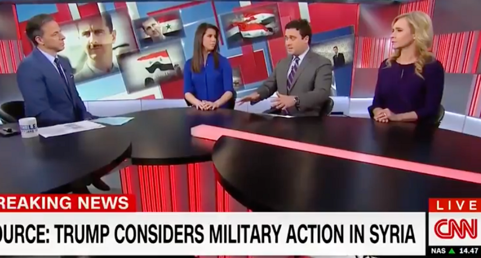 'Not the first and not the worst' attack: CNN panel skeptical Trump knows anything about Syria