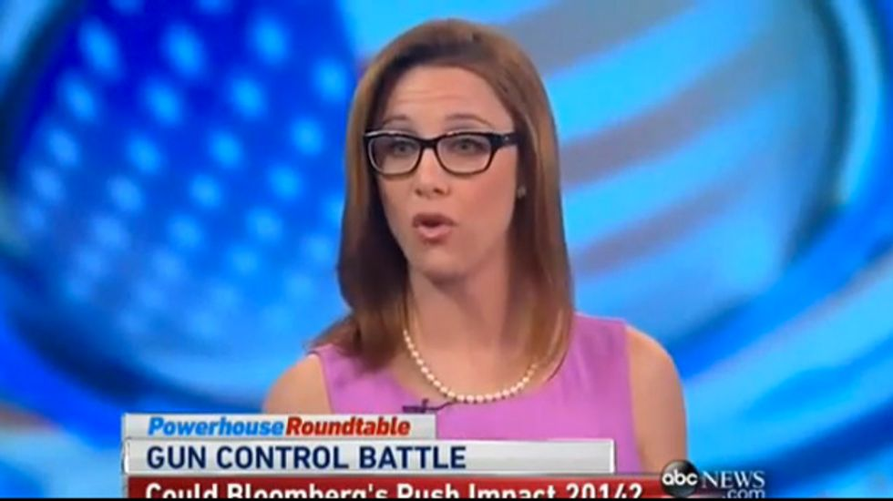 S.E. Cupp: 'My friends at the NRA' high-fiving over Bloomberg as face of gun control group